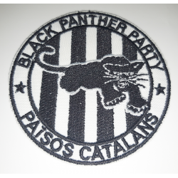 Parche Black Panther b/n