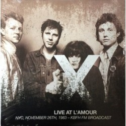 X - Live At L'Amour (NYC,...
